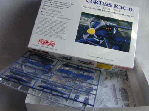 New! Porco Rosso CURTISS R3C-0  Plastic model assembling kit//Studio Ghibli
