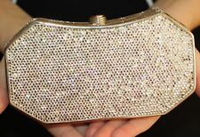 32557727c1332 item 6 JUDITH LEIBER SWAROVSKI CRYSTAL UNIQUE FORMAL BRIDAL MINAUDIERE  CLUTCH SILVER -JUDITH LEIBER SWAROVSKI CRYSTAL UNIQUE FORMAL BRIDAL MINAUDIERE  CLUTCH ...