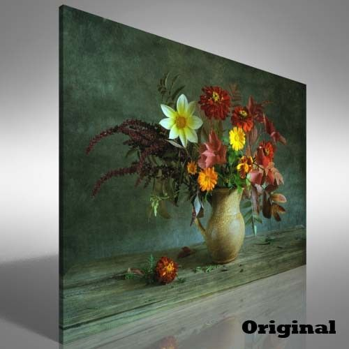 Bunch of Flowers Canvas Print Large Picture Wall Print