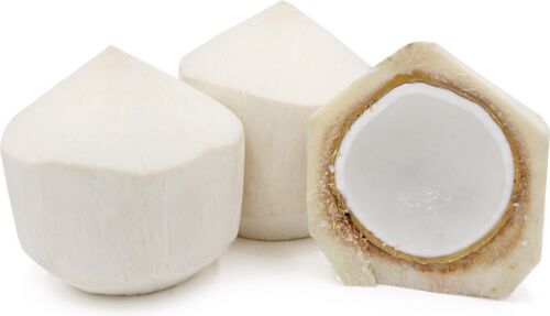 set Of 3 Fresh Young Coconut