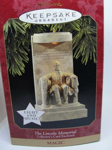 1997, THE LINCOLN MEMORIAL, HALLMARK ORNAMENT