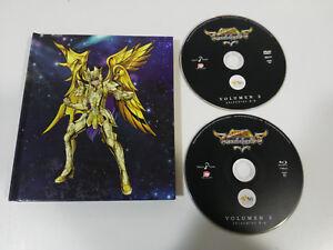 SAINT-SEIYA-SOUL-OF-GOLD-VOL-2-BLU-RAY-DVD-LIBRO-ESPANOL-JAPONES-AM