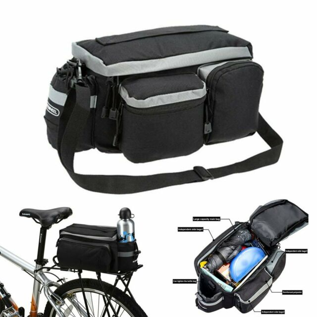 Bicycle Rear Bag Waterproof Pannier Bag Bike Handbags Cycling Saddlebags Trunk