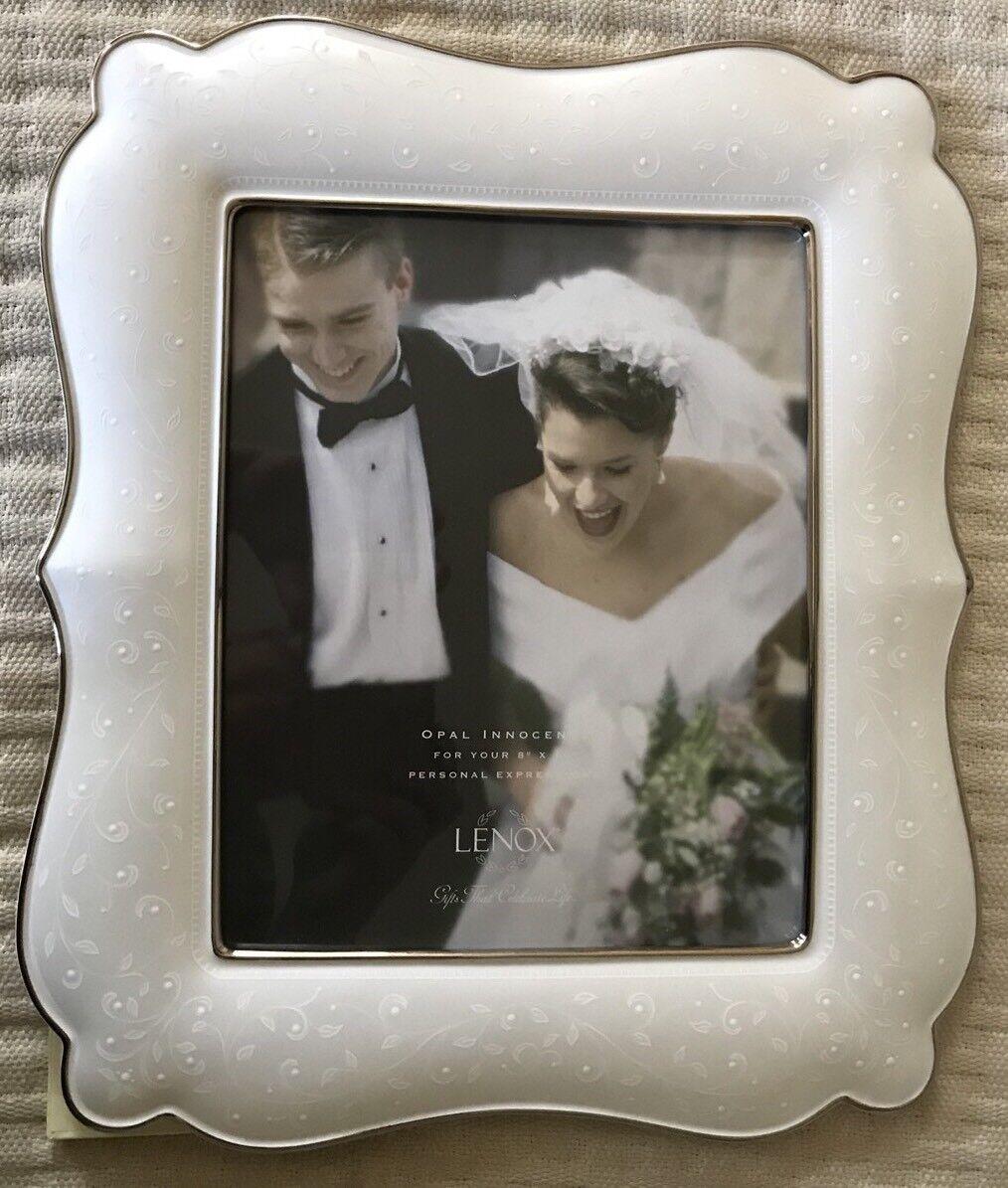 Lenox Opal Innocence Wedding Promises 8x10 Picture Frame 6225924 | eBay