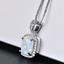 Damen-Halskette-echt-Silber-925-Opal-Stein-Kette-Silber-mt-Anhaenger-Geschenk-Neu Indexbild 17