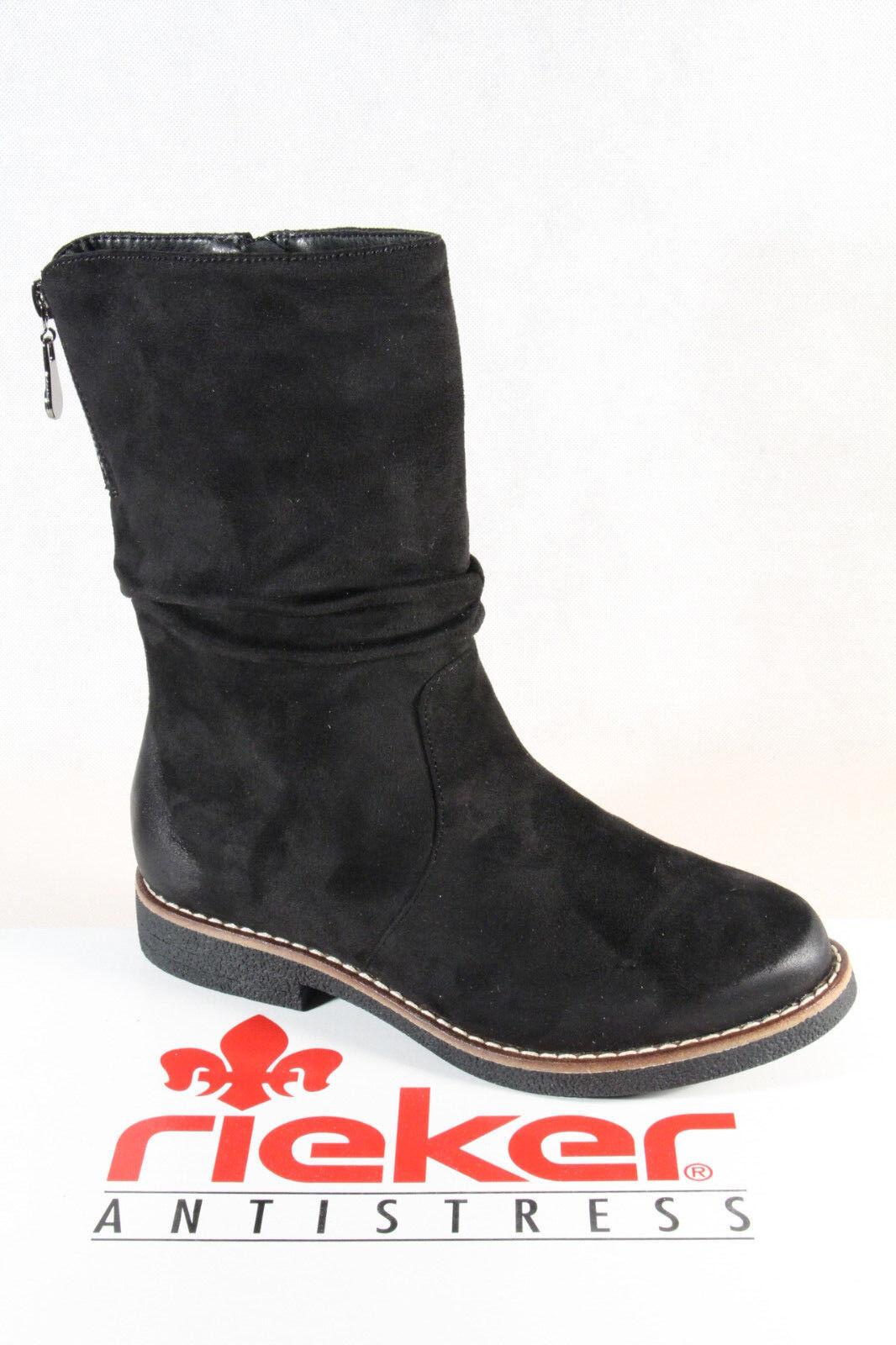 Rieker stivali  Ankle avvio stivali Winter stivali 97860 nero New  risparmia fino al 30-50% di sconto