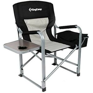Swell Details About Kingcamp Portable Heavy Duty Super Comfort Folding Camping Chairs 2 Chairs Machost Co Dining Chair Design Ideas Machostcouk