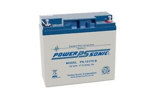 12V 17.0Ah SLA battery Powersonic PS-12170 7426762753771