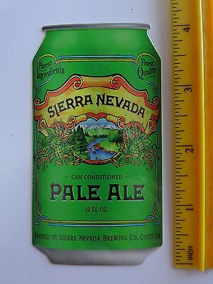 Sierra Nevada Pale Ale Chico CA brewing metal tin sign living room