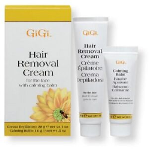 Gigi Hair Removal Cream For The Face With Calming Balm 73930043508