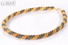 Le Bijou Halskette vier gedrehte Strickketten
