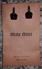 Miu Miu Prada spare black rubber heel tips heel lifts in paper bag