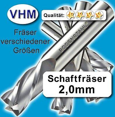 Kunststoff Holz Vollhartmetall scharf geschliffen 38mm Schaftfräser 3,0mm f