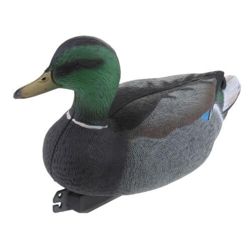 Kunststoff Lockvogel   Schwimmend Ente Köder Jagd Fischerei Garten Teich