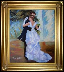 Framed-Renoir-Dance-in-the-City-Repro-Hand-Painted-Oil-Painting-20x24in