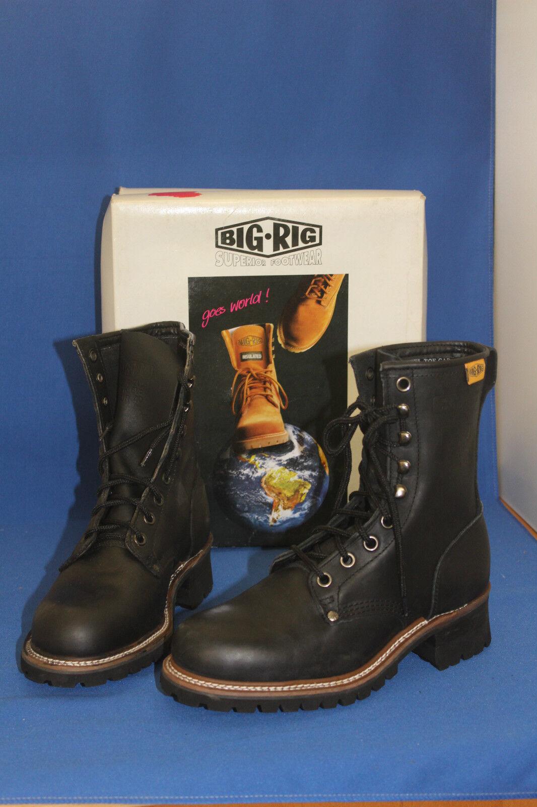 Big Rig schnürrstiefel Pelle Lenny Stivali Outdoor libero scarpe per il tempo libero Outdoor tg. 36 ad4853