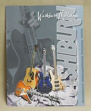 NEW OLD STOCK WASHBURN 2000 MILLENNIA INTERNATIONAL COLOR MINT CATALOG 31 PAGES