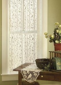 Image Is Loading Heritage Lace BRISTOL GARDEN Curtains 7 Sizes 2