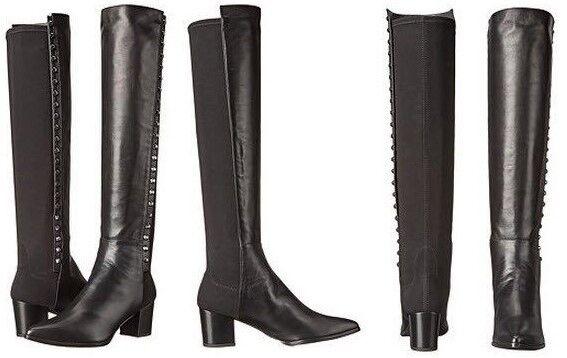Stuart Weitzman lastre sobre la la la rodilla botas De Napa Negro para Mujer 6.5 Nuevo En Caja  compras de moda online