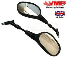 10mm Motorcycle Mirror Pair Left Right Rear View Mirrors BMW F650 GS DAKAR