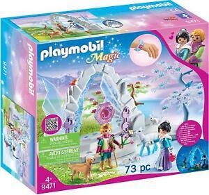 Playmobil Magic 9471. Portal de cristal al mundo de Invierno. Más de 4 años.