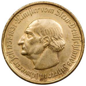 Germany-Weimar-Republic-1923-10-000-Mark-Notgeld-Bronze-Coin-SKU52268