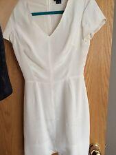 Theory Dress Silk White 00 0 PP Dvf