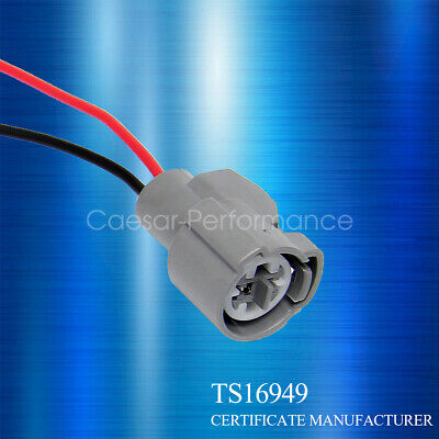 Fit 90-02 CIVIC PRELUDE ACCORD Coolant Temperatur Temp Sensor Plug Wire Pigtail