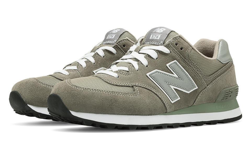 New Balance Men's 7 ML574 Lifestyle Sneaker, Grey/Silver, 7 Men's D US 2be556