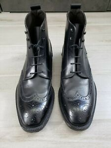 To Boot New York Wingtip Boots, Size 10, Black