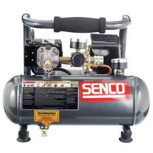 SENCO-1-2-HP-1-Gallon-Oil-Free-Hand-Carry-Compressor-PC1010-New
