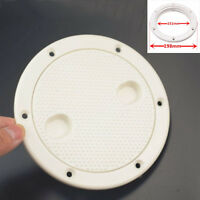 151mm 6'' Abs Round Deck Hatch Cover Lid Screw Out Deck Marine Boat Motorhome