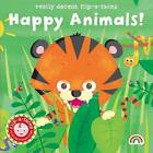 Flip-a-Face: Happy Animals!: No. 4 by Really Decent Books (Hardback, 2015)