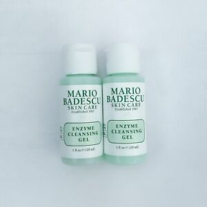 Details About Mario Badescu Enzyme Cleansing Gel Face Cleanser Travel Size 0 1oz X2