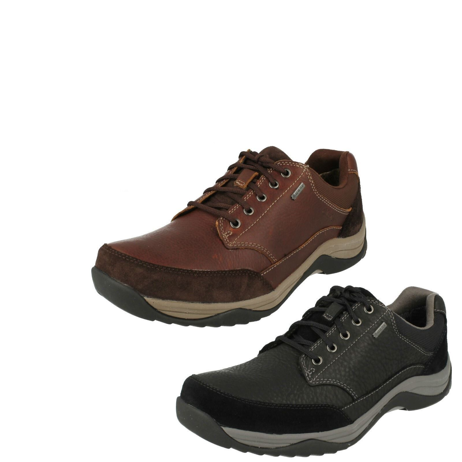 Clarks Mens Gore-Tex shoes 'Baystone Go GTX'