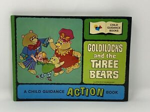 GOLDILOCKS-AND-THE-THREE-BEARS-Illustrated-By-GEORGE-BUCKET-Action-Hardcover