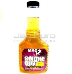 Mag-Fumo-fuori-Auto-Van-Benzina-Diesel-Olio-Motore-Masterizzazione-amp-Stop-Cura