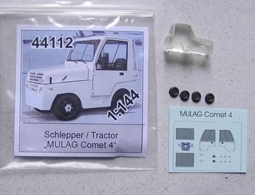 Flughafenbetrieb   von bs-design 1:144 Gepäckschlepper Mulag Comet 4
