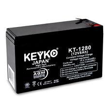 Verizon FiOS PX12072-HG 12v 8Ah SLA KEYKO ® AGM Rechargeable Battery