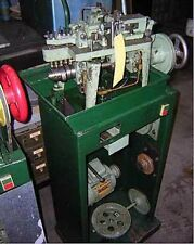 Fico Type Curb Style Cable Chain Making Machine Tooled Medium Size Single Cable