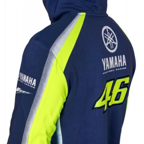 Rossi double polaire à Moto Gp Valentino shirt Ydmfl314109 Yamaha Sweat 2018 Vr46 qtw116