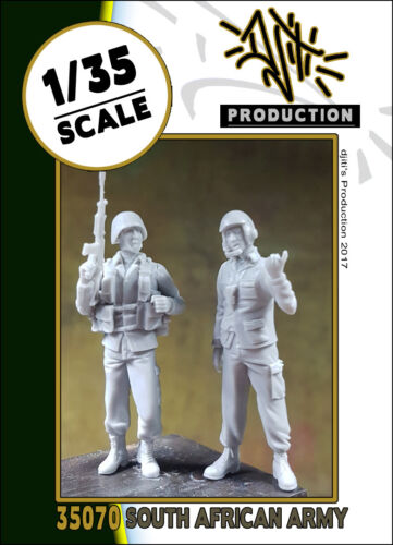 1//35 scale resin model kit south african army