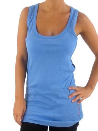 O /'Neill manga vigas camisa Piri piri azul claro cuello redondo perforados nuevo