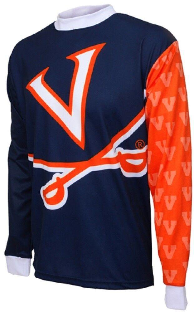 NCAA Men's Adrenaline Promotions Virginia Cavaliers MTB Cycling Jersey