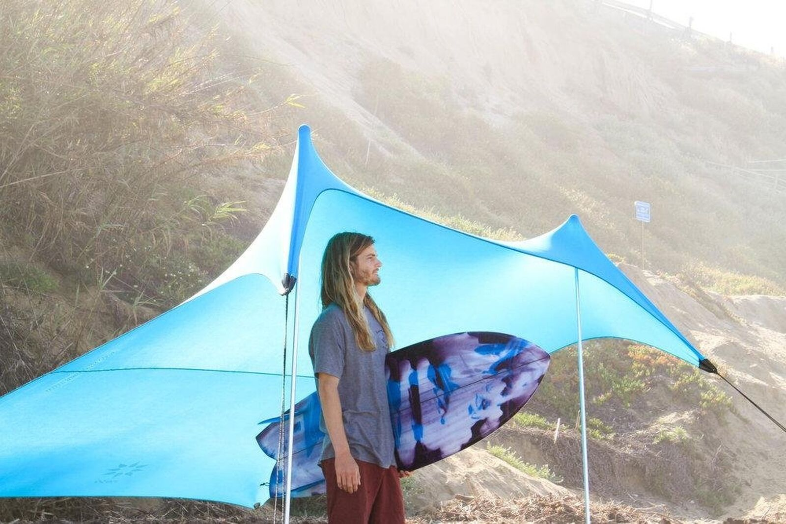 Neso Tents  Grande Beach Tent, 7ft Tall, 9 x 9ft, Reinforced Corners and Coole...  100% free shipping