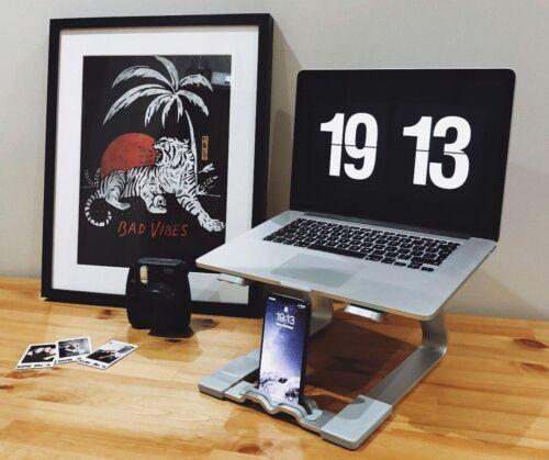 PARAMOUNT MacBook Laptop Stand by picchi di parità-Argento