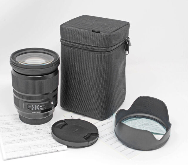 Sigma 24-105mm f/4 HSM DG OS Aspherical Lens Canon EOS TESTED! SALE!