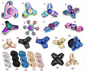 Fidget-Finger-Spinner-Hand-Focus-Ultimate-Spin-Metal-EDC-Bearing-Stress-Toys-UK