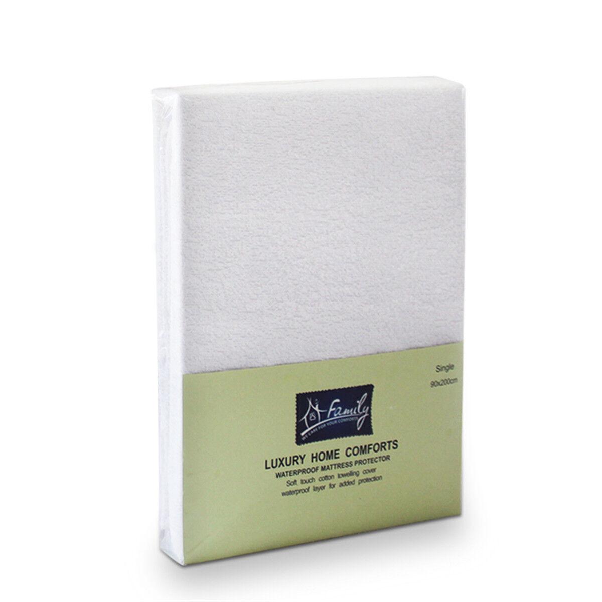160x 200c... Dunlopillo Comfort Cotton Polyurethane Waterproof Mattress Cover