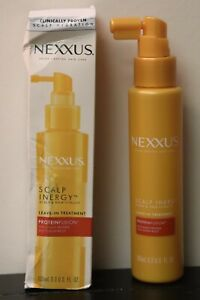 NEW NEXXUS Scalp Inergy LEAVE-IN TREATMENT Hydration For Fine Hair 3.3 Fl Oz